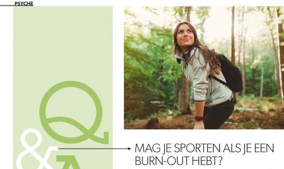 Sporten bij een burn-out?