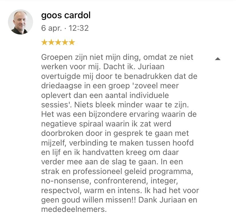 reviewcoachingDokterJuriaan